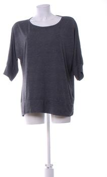 Dámské triko Okay jednobarevné šedé