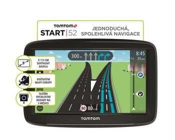 GPS navigace Tom Tom Start 52 Regional CE Life