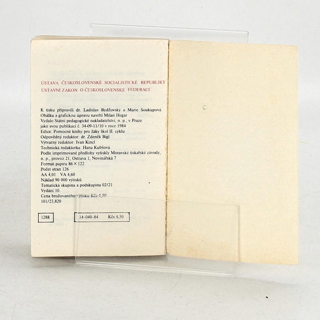Kolektiv autorů: Ústava Československé socialistické republiky