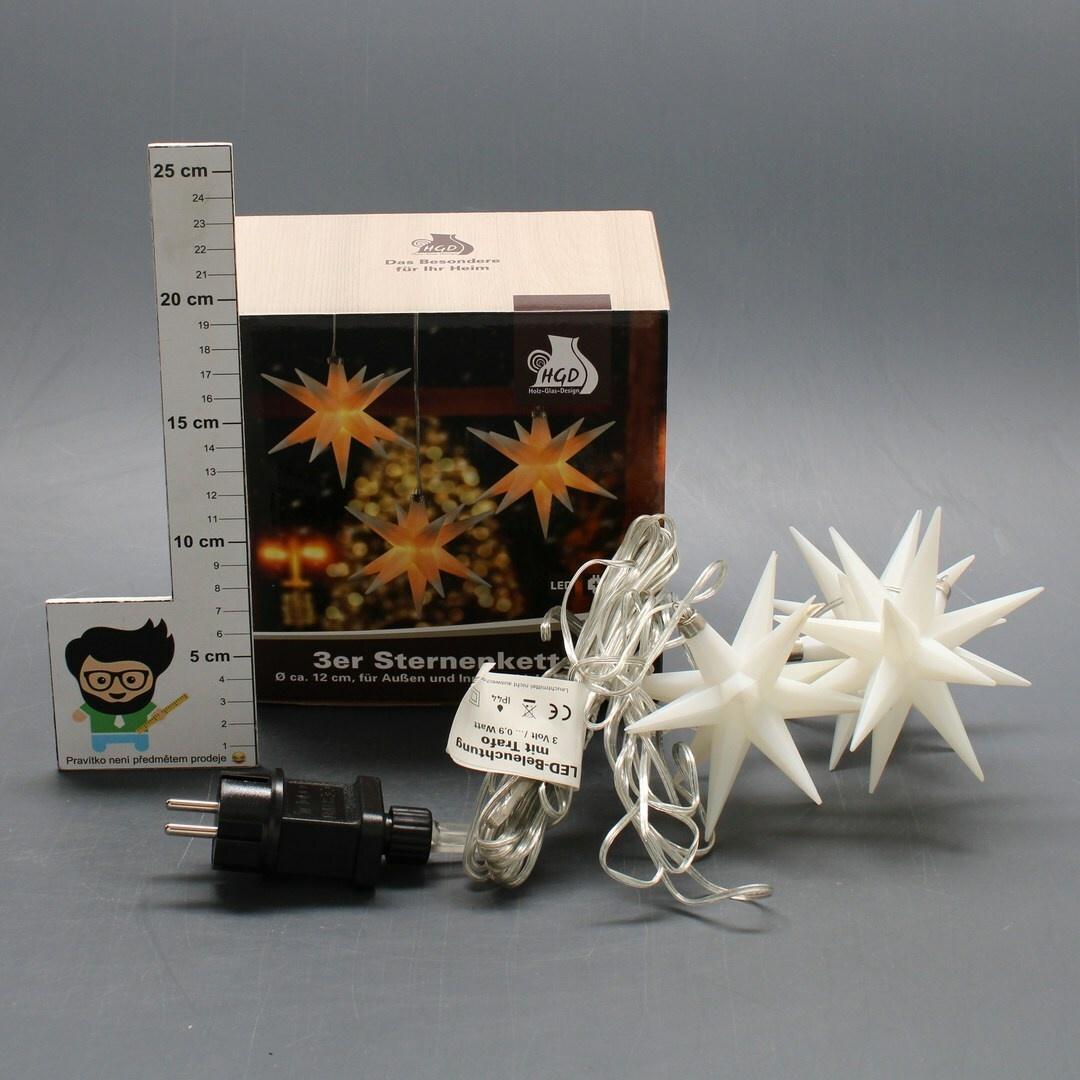 Svítící LED hvězdy HGD CW62100