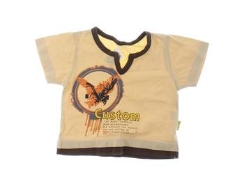 Dětské tričko FROG béžové