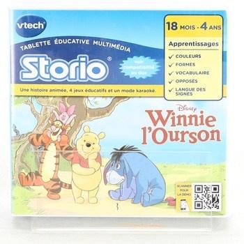 Vzdělávací hra Vtech Storio Winnie l'Ourson