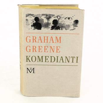 Kniha Graham Greene: Komedianti
