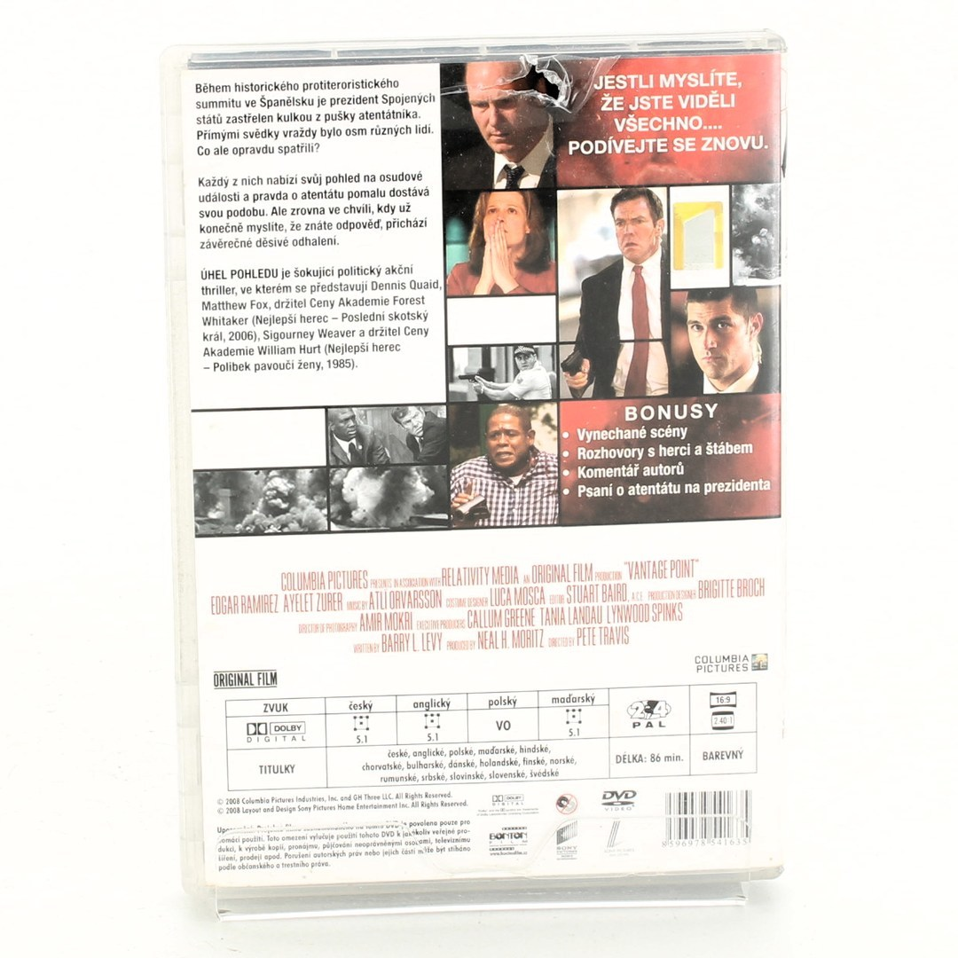 DVD Úhel pohledu