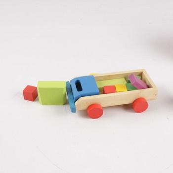 Dřevěné autíčko Eichhorn pro nejmenší