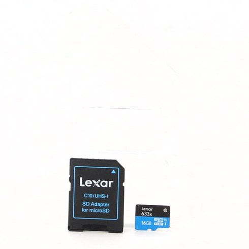SDHC karta Lexar 16 GB 633