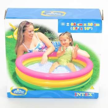 Nafukovací tříbarevný bazén Intex