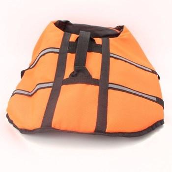 Vesta pro psa plavecká Nobby 78577 oranžová