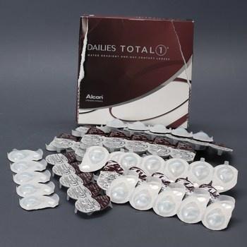 Čočky značky Dailies Total 90 ks