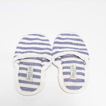 Plátěné pantofle Linen & Cotton