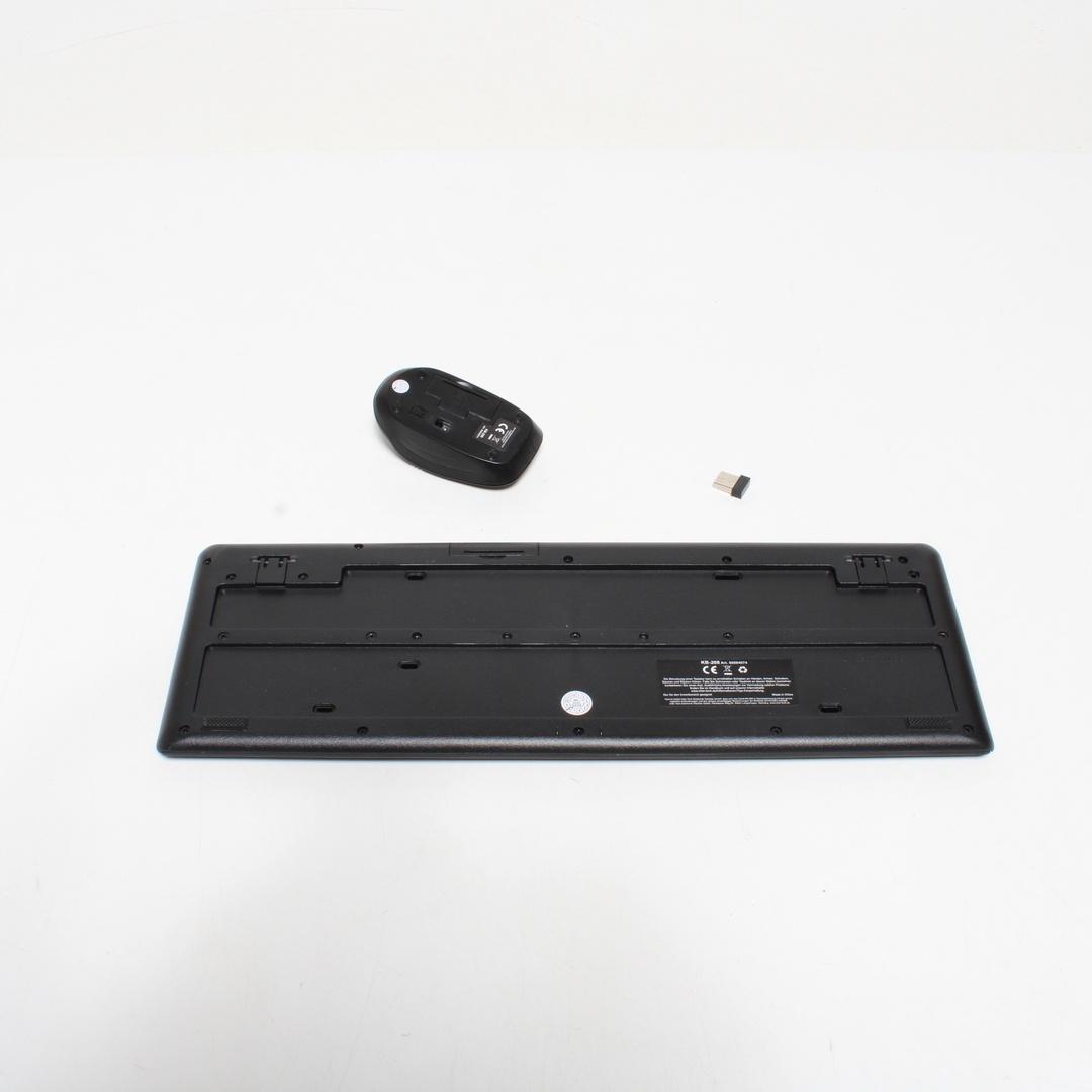 Set klávesnice a myši Inter-Tech KB-208