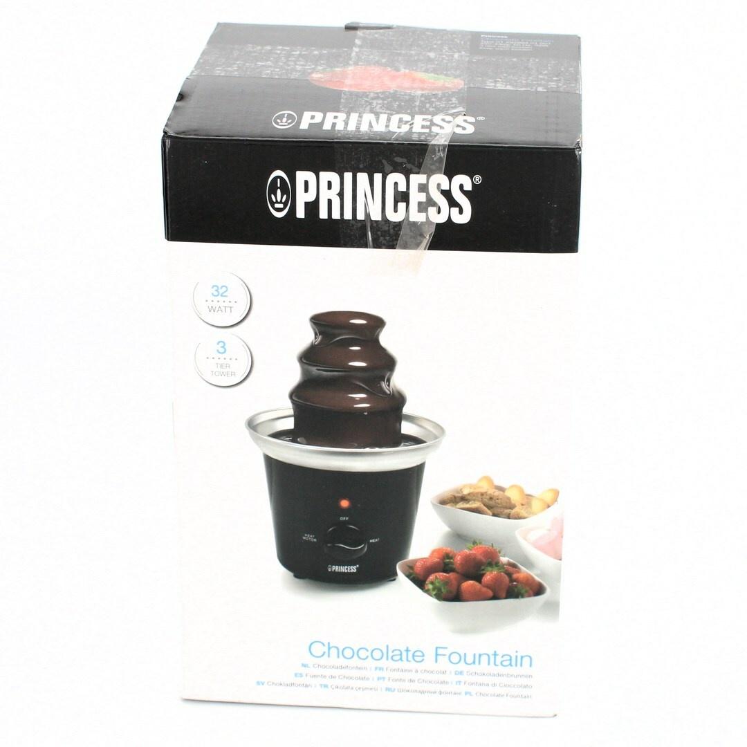 Čokoládová fontána Princess