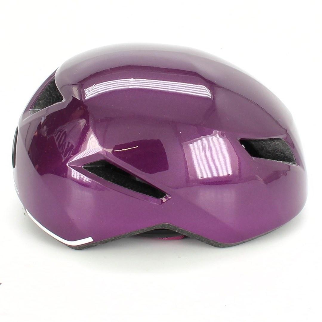 Cyklistická helma fialová Abus