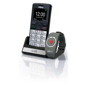 Mobil pro seniory s náramkem MaxCom MM 715