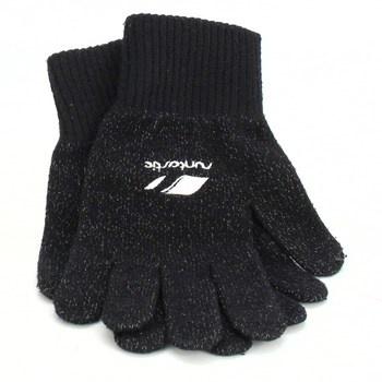 Prstové rukavice Runtastic černé