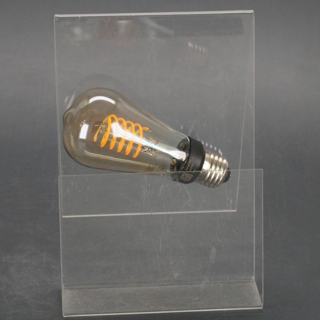 Žárovka Philips White Filament E27 ST64 7W