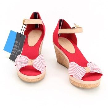 Dámské sandálky na klínku Tommy Hilfiger Elba