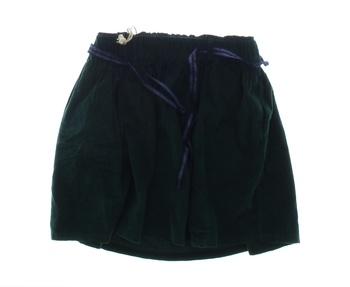 Dětská sukně Pepe Jeans zelená