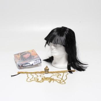 Dámská paruka egyptská královna