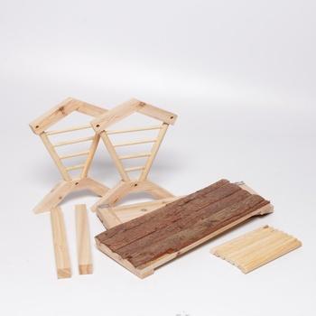 Jesličky na seno Kerbl dřevěné