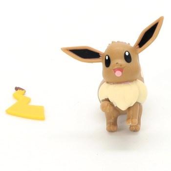Figurky Pokémon 82843 Pikachu a Evoli