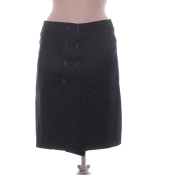 Dámská sukně Orsay černá s knoflíky