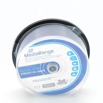 Blu-ray disky MediaRange MR510 25ks