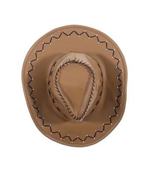 Pánský kovbojský klobouk koženkový 99ff2271c5