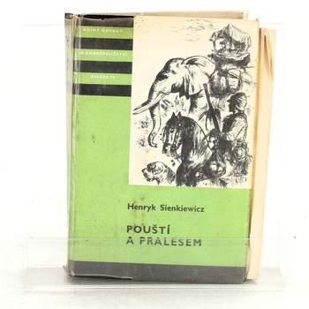Kniha Henryk Sienkiewicz: Pouští a pralesem