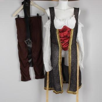 Dámský kostým Smiffy's 26225 - pirát