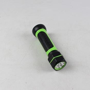 LED svítilna 36 LED diod černozelená