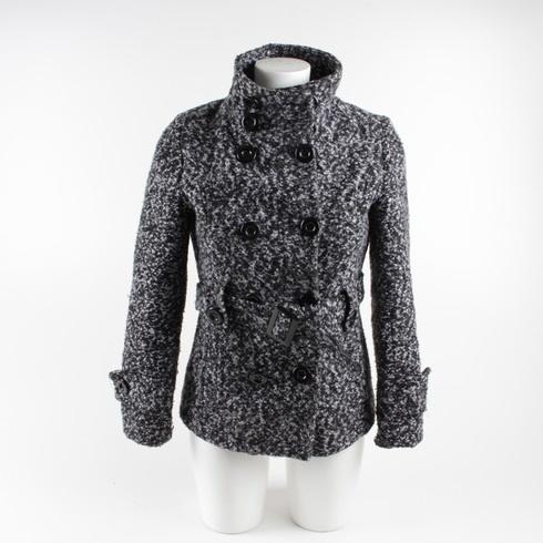 cba39c83124 Dámský kabátek East West tmavě šedý - bazar