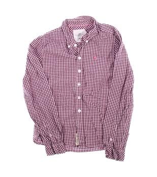 Dětská kostkovaná košile H&M fialová