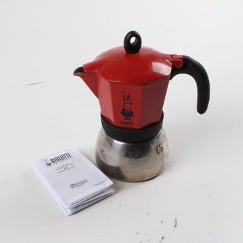 Moca konvice Bialetti na kávu červená