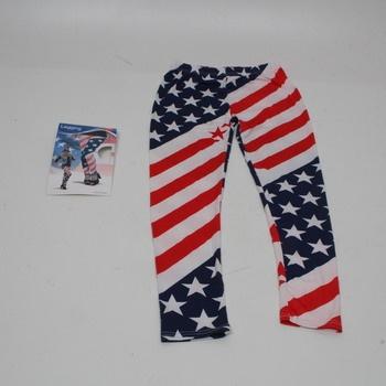 Dámské legíny Folat 63551 kostým USA