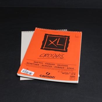 Blok Carson XL kroužková vazba