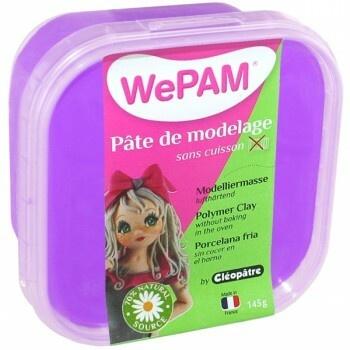 Modelovací hmota WePAM nafialovělá