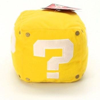 Plyšová kostka Nintendo žlutá 83400