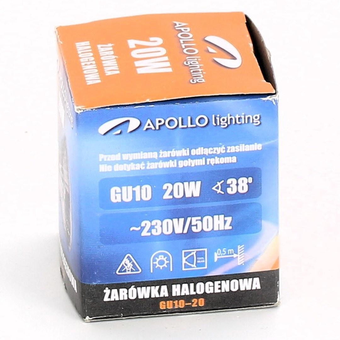 Halogenová žárovka Apollo lighting GU10-20