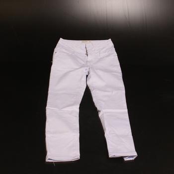 Dámské džíny Elara s vysokým pasem bílé 44