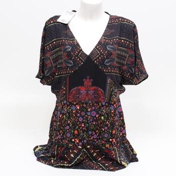 Dámské šaty Desigual 18WWVW90  vícebarevné