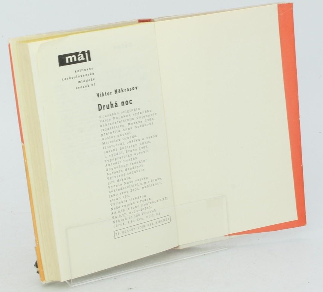 Kniha V. Někrasov: Druhá noc