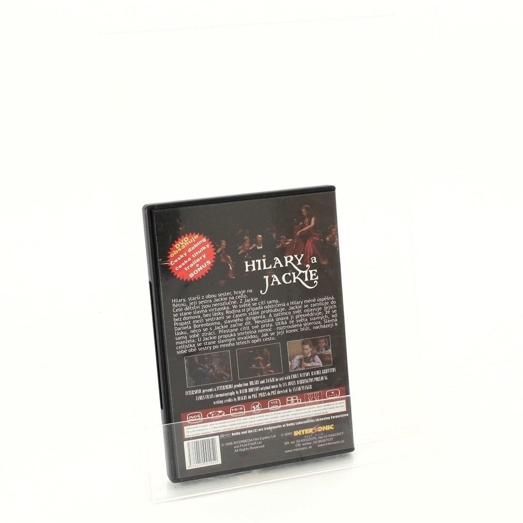 DVD E.Watsonová a R. Griffithsová: Hilary a Jackie