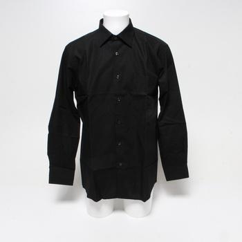 Pánská košile BlueBlack Regular Fit černá