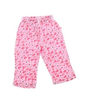 Kojenecké tepláky Okay růžové