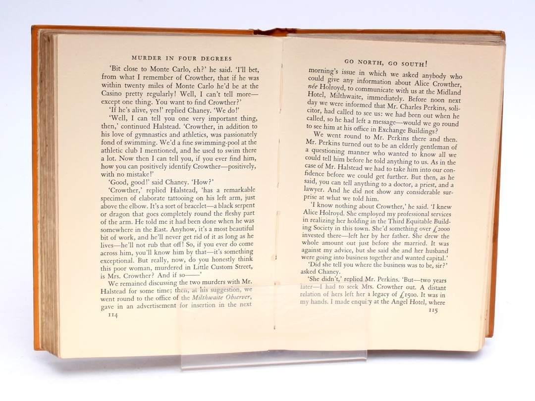 Kniha Murder in Four Degrees J. S. Fletcher