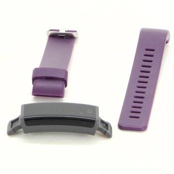 Fitness náramek Letsfit fialový