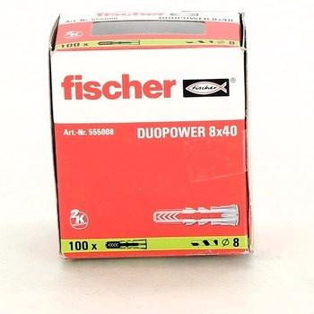 Hmoždinky Fischer 555008 DUOPOWER