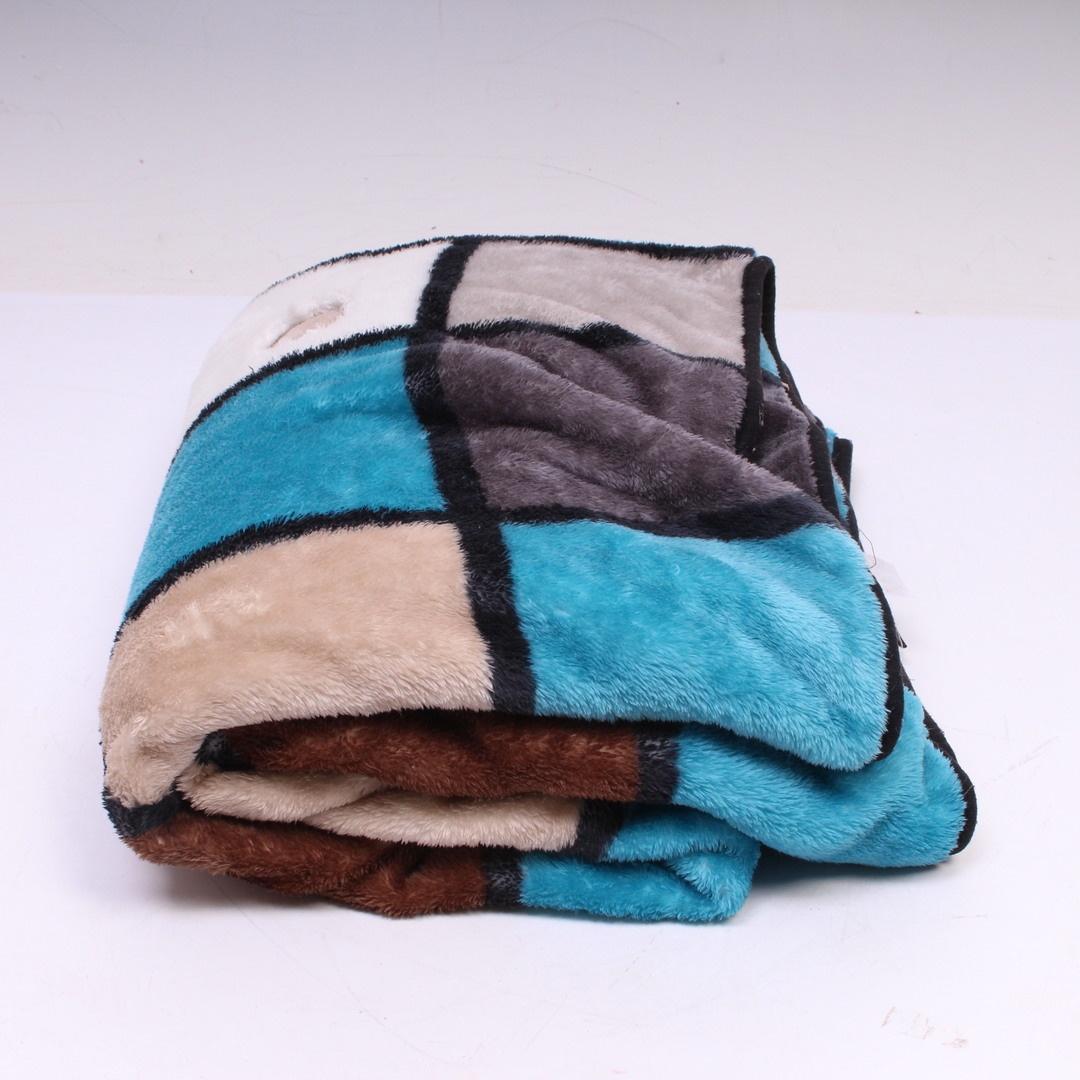 Deka Gozze barevná hebká polyester