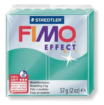 Fimo Staedtler Effect-zelená transparent